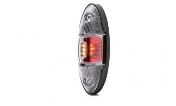 LED Светодиоден Страничен Габарит, Универсален, Оранжев, Бял, Червен цвят, Е-Mark, 12V-24V, 12.1 см