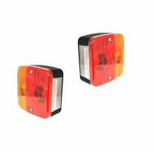Комплект от 2 стоп светлини с 4 функции, за ремарке, камион, Караванa, Платформа 12V