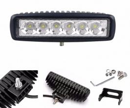 LED халогенна дневна светлина работна лампа 12/24V за ролбар, джип, АТВ