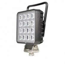 16W 1380lm LED ЛЕД Диоден Фар Работна Лампа Прожектор С Дръжка и Ключ