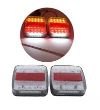 Комплект Диодни LED Лед Стопове 12V - за Бус Камион Ремарке Караванa Платформа