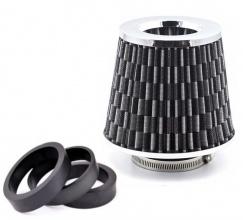 150 mm Универсален Спортен Въздушен Филтър Карбон За Автомобил Конус