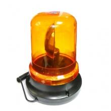 LED Лед 12V Сигнална Аварийна Лампа Маяк Буркан С Магнит