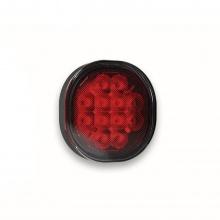 Задна Светлина за Мъгла, Червена, С Конектор 2 Пина, 12V-24V, E-Mark
