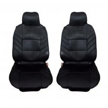 Универсални калъфи тапицерия за предни седалки масажор, черни
