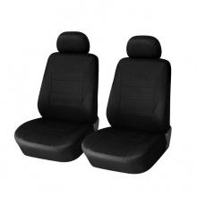 Универсална черна тапицерия (калъфи) 1+1 за предни седалки