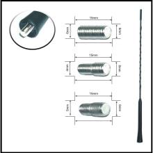FM/АМ радио антенa за автомобил, 41cm дължина с 3 адаптора