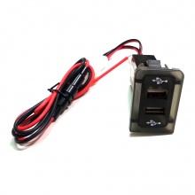 USB зарядно с два USB изхода за автомобил Голф 4/Бора 4 VW Golf 4 Bora 4