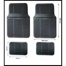 - НЯМА НАЛИЧНИ - Комплект гумени черни автомобилни стелки предни и задни PVC Универсални 4 броя