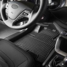 Гумени стелки за Алфа Ромео Alfa Romeo 147 2000 - 2010, Комплект висококачествени Frogum