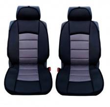 Универсални калъфи/тапицерия за предни седалки, Масажор, Сиви