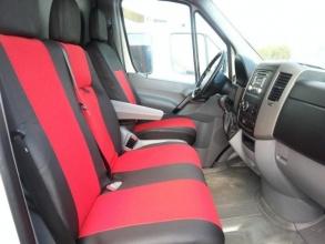 2+1 Калъфи тапицерия за предни седалки за Мерцедес Спринтер Mercedes Sprinter, Фолксваген Крафтер Volkswagen Crafter