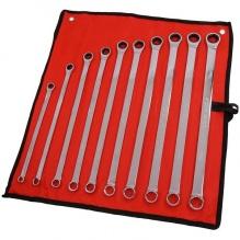 10 части - Комплект удължени ковани двойни лули с масивен и тресчотен край със 72 зъба - Neilsen Tools