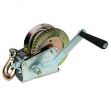 Ръчна лебедка с тресчотен механизъм за Лодка, Платформа, Ремарке, Мотоциклет, Багаж - 10м стоманено въже