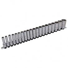 20 части - Комплект високоякостни, професионални шестостенни вложки - с дълбок XI ON вътрешен профил - Neilsen Tools