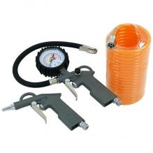 3 части комплект - манометър, пръскалка и 4.5 метра маркуч за въздух - Neilsen