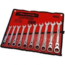 10 части - Комплект звездогаечени ключове с чупещa глава с тресчотка - Neilsen Tools