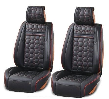 Лукс Универсална Кожена Тапицерия / Калъфи за предни седалки