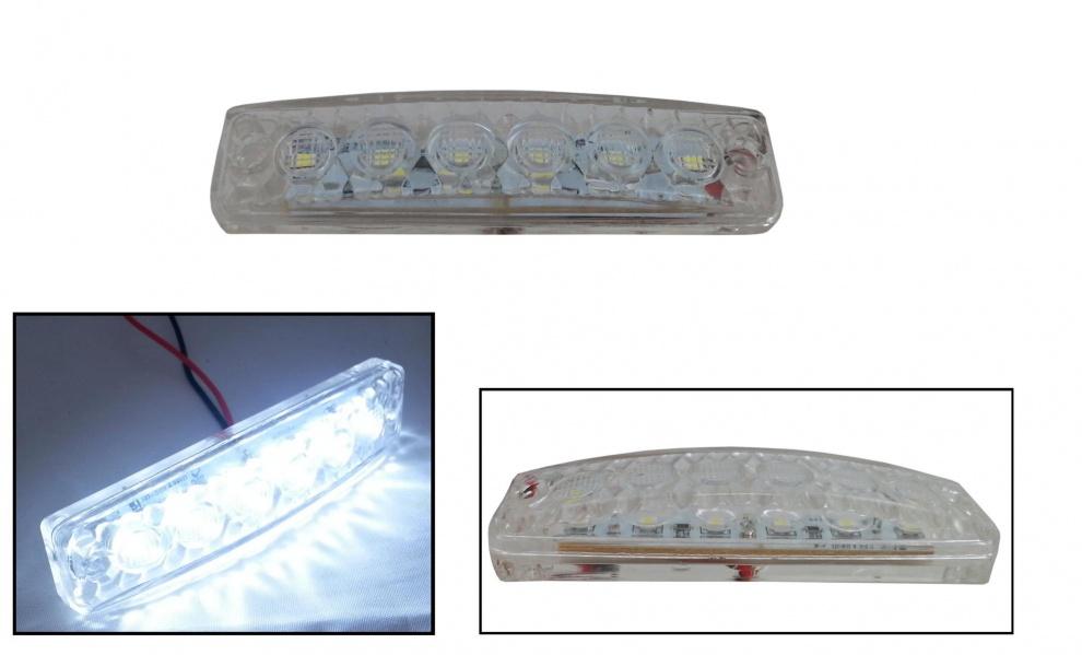 LED SMD светодиодни габарит, токос, маркер 24V бели