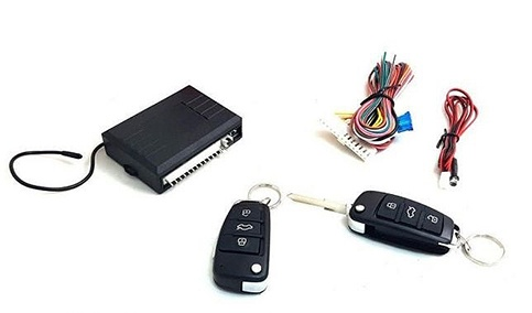 Универсален модул централно залк/откл за автомобил с 2 дистанционни