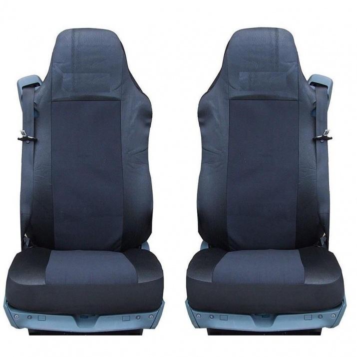 Калъф/тапицерия за седалки за SCANIA 4 114, 124, 144, 164, 94, Черни