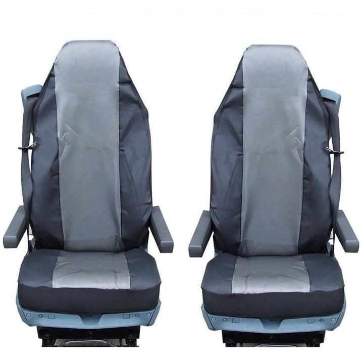 Калъф/тапицерия за седалки за MERCEDES AXOR, ATEGO, ACTROS, Сиви