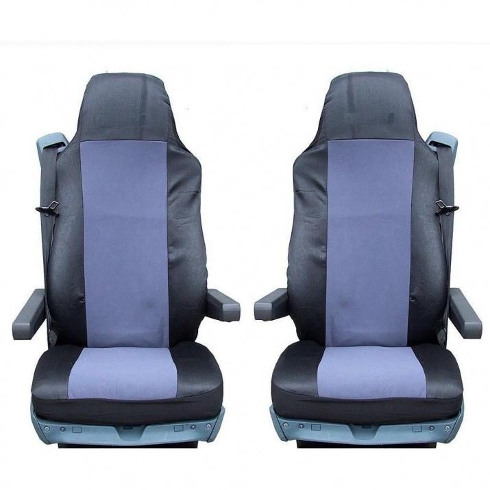 Калъф/тапицерия за седалки за SCANIA R 620, 580, 560, 440, 500, 480, Сиви