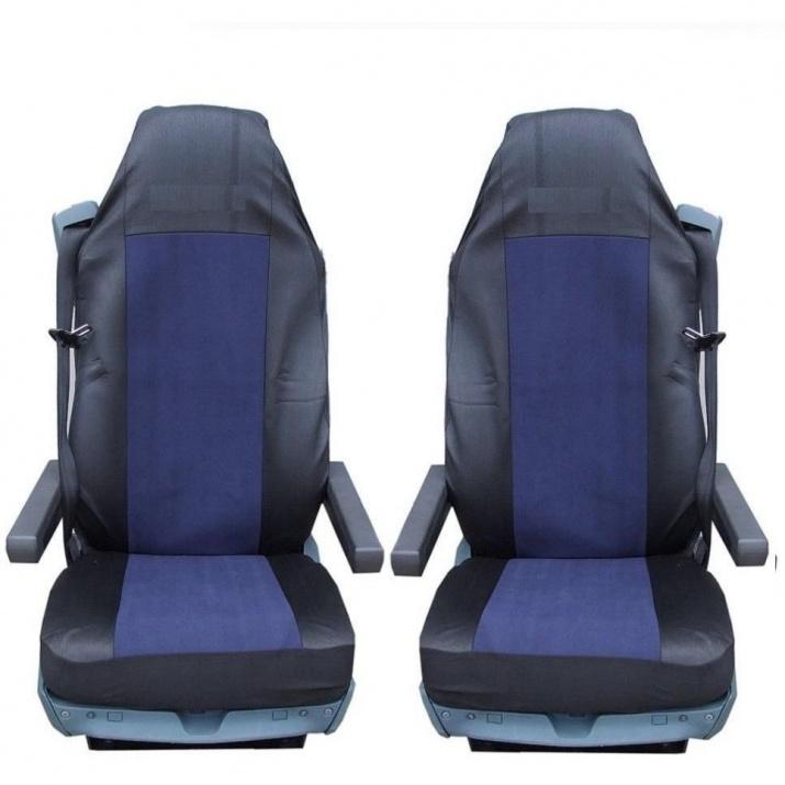 Калъф/тапицерия за седалки за VOLVO FL,FE,FM16,FH16,FH12, Тъмносини