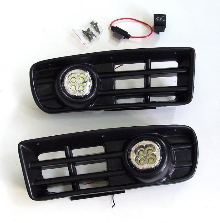 LED Халогени с решетки за  ФОЛКСВАГЕН ГОЛФ 4 1997 - 2006 / VW Golf 4