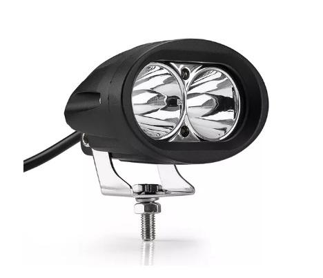 9.8 См 20W Led Лед Диоден Фар Прожектор Халоген Джип Мотор 4X4 12V 24V 1800 Лумена