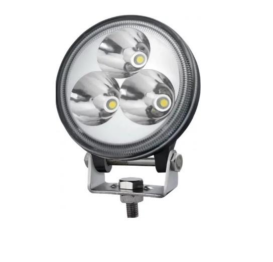 8.3 См 9W Led Лед Диоден Фар Прожектор Халоген Джип Мотор 4X4 12V 24V 720 Лумена