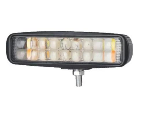 16 См Лед Диоден Бар Халоген Лампа Прожектор с Мигач 12V 24V