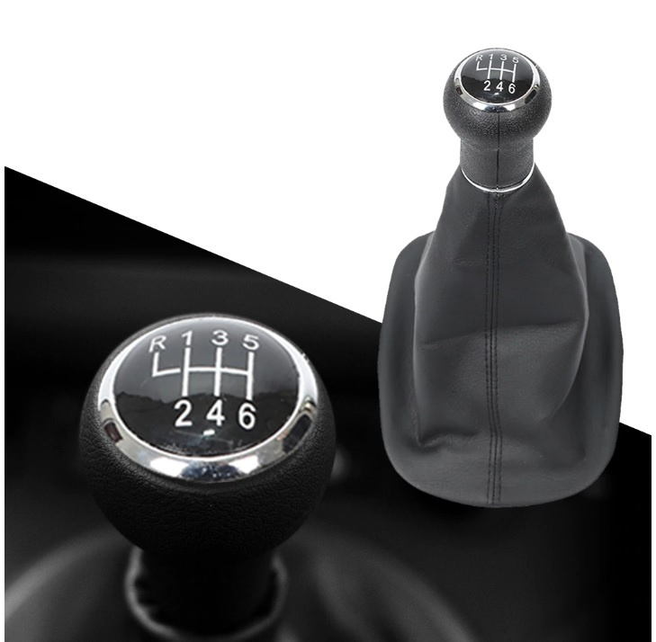 Tопка Скоростен Лост С Маншон Кожен Кожух Пасат VW Passat B5 2001-2005 6 Скорости