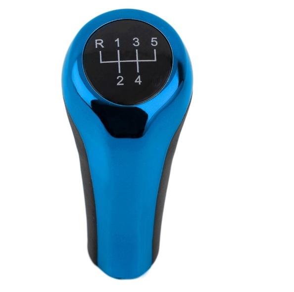 Топка скоростен лост За BMW Бмв X1 X3 X5 E53 E83 Е60 5 Скорости Синя