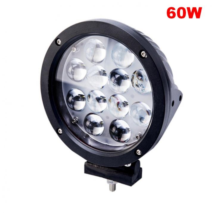 18 См 60W Супер Мощен PRO Led Диоден Халоген Лед Лампа Прожектор 12V 24V