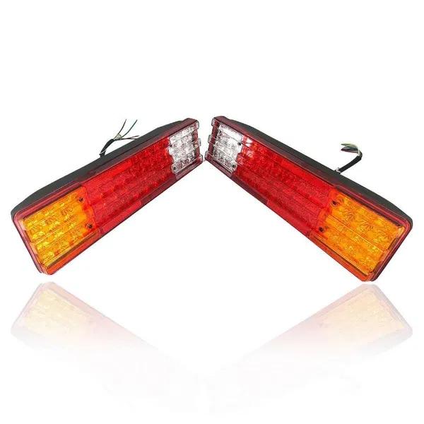 Комплект от 2 Броя Диодни LED Лед стопове 24V - 420mm x 110mm x 75mm - подходящи за Бус Камион Тир Ремарке Каравана