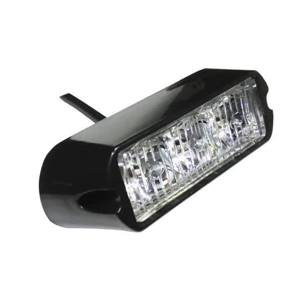 3 LED Аварийна Лампа За Пътна Помощ, Жълта Блиц Светлина, Мигаща!