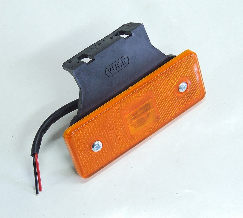 Оранжев LED габарит, маркер 24V