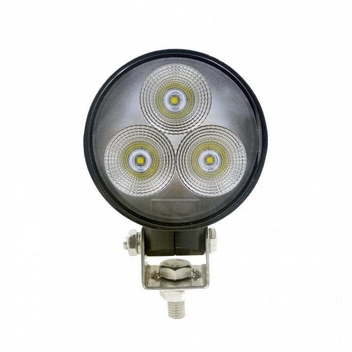 ЛЕД Диоден Халоген LED Лампа 1800lm 8,5cm 30W PRO Трактор, Комбайн