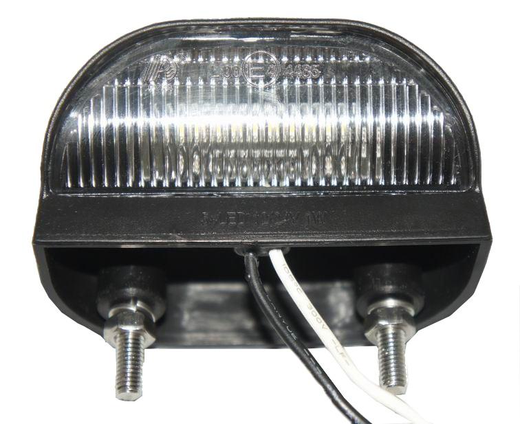 LED Oсветление, Лед Плафон за Регистрационен Номер, 12V-24V, 75X45mm