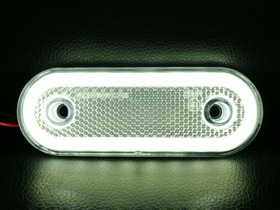 LED Диоден Габарит, Бял, Червен, Жълт, Маркер, Е-Mark, Неон Ефект, 12V-24V LED Диоден Габарит, Бял, Маркер, Е-Mark, Неон Ефект, 12V-24V