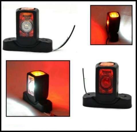 2бр LED Лед габарити светлини за камион, ремарке 12V