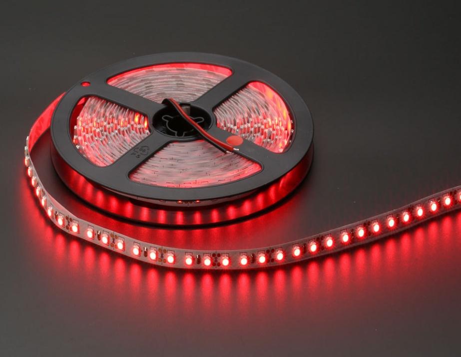 5M LED SMD Лента 24V червена