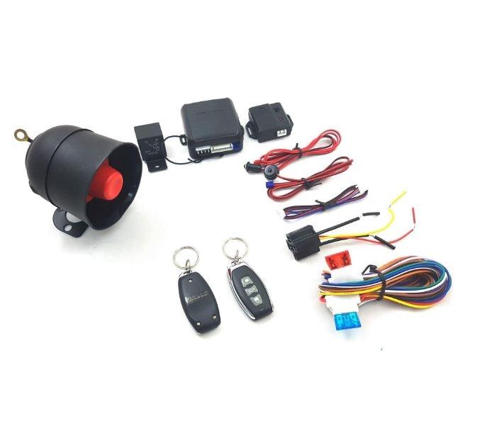 Универсална алармена система имобилайзер, централно заключване и шок сензор (RT9)