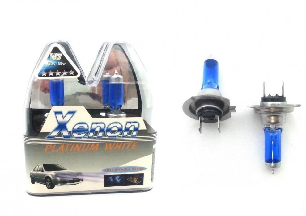 Комплект авто-крушки ксенон ефект (бяла светлина) H7 55W
