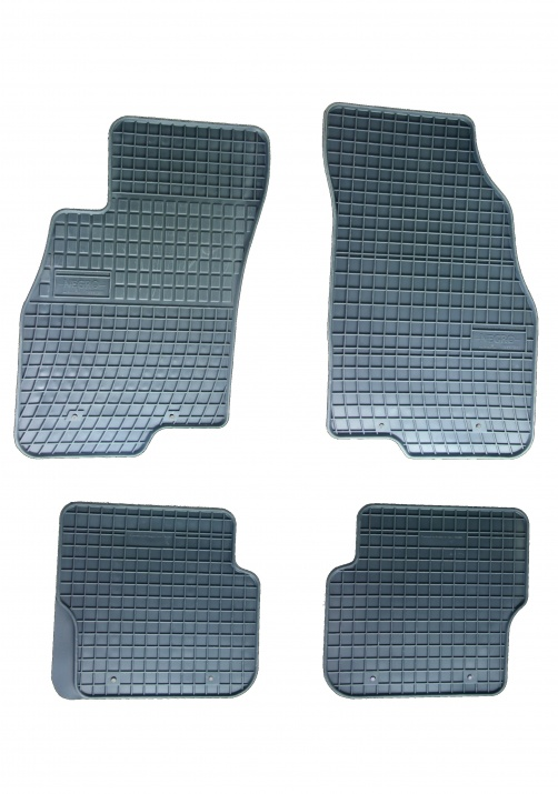 Комплект висококачествени гумени стелки за Fiat Punto, Punto EVO