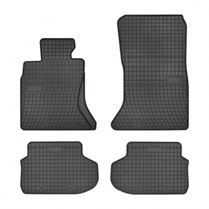 Комплект качествени гумени стелки за BMW 5 F10 F11 facelift 2013+