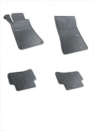 Комплект гумени стелки за Мерцедес С класа Mercedes C class W203