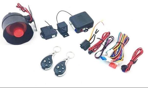 Универсална алармена система 284, Имобилайзер, Централно заключване, Шок сензор