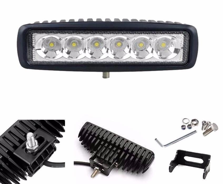 LED халогени дневни светлини работни лампи 12/24V за ролбар, джип, АТВ